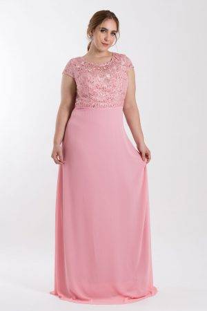 VESTIDO LONGO BORDADO ROSE PS_‬PD167_8045v05rse-f1
