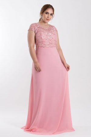VESTIDO LONGO BORDADO ROSE PS_‬PD167_8045v05rse-f2