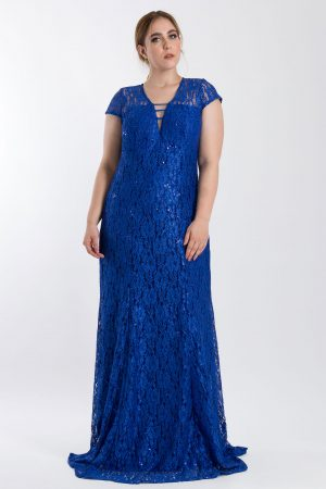 VESTIDO LONGO DECOTADO AZUL ROYAL PS_PD180_8093royal_f