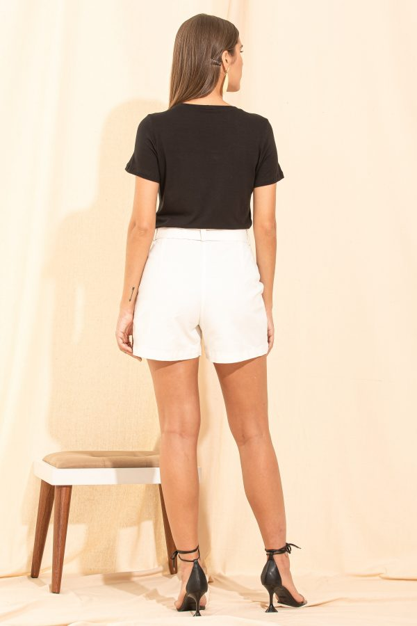 SHORTS OFF WHITE JEANS